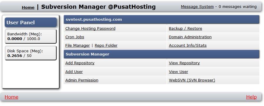 control-panel-svn-hosting