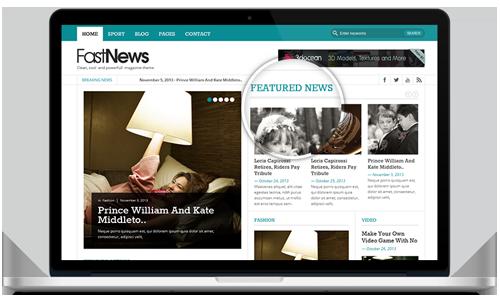 5 Theme Magazine WordPress Gratis