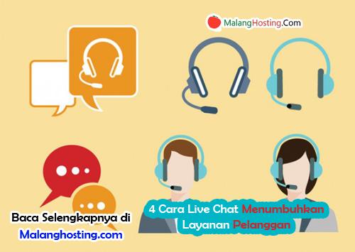 4 Cara Live Chat Menumbuhkan Layanan Pelanggan