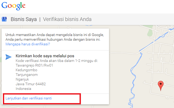 Tips Membuat Peta Google Bisnis